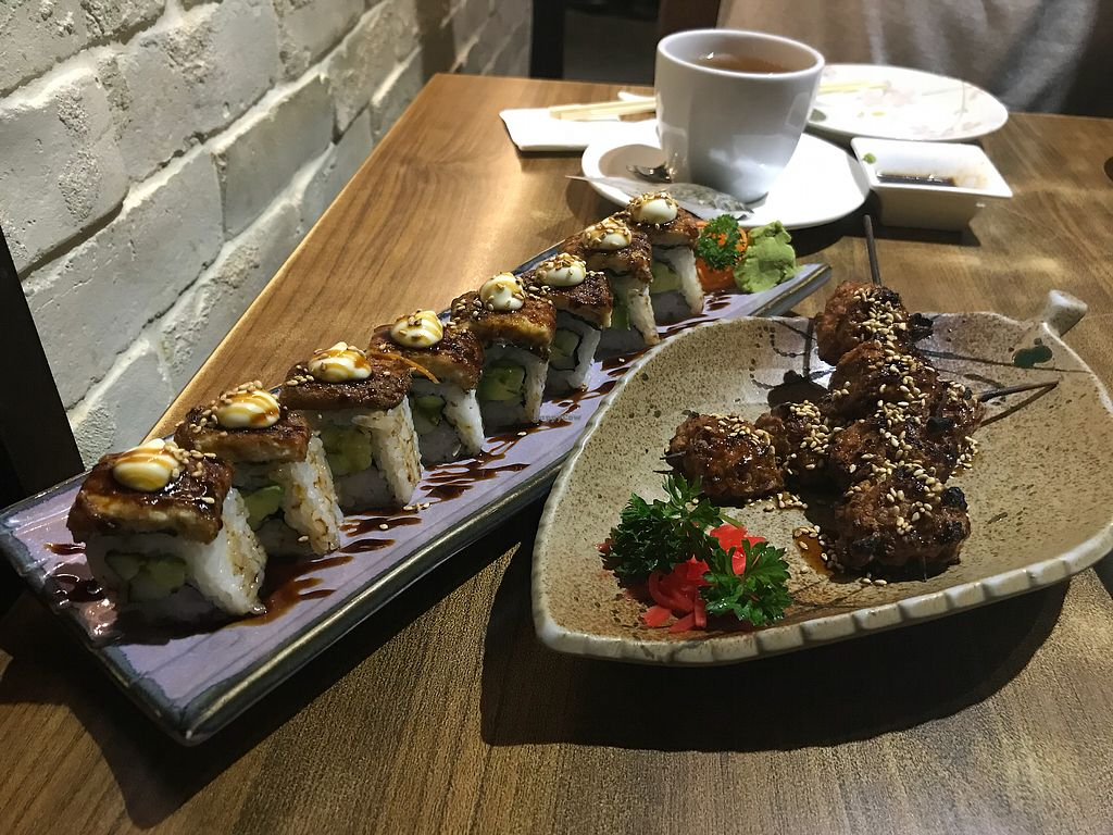 "Photo of Herbivore Japanese Vegetarian Restaurant  by <a href=""/members/profile/vichinol"">vichinol</a> <br/>Sushi and Meat Balls <br/> March 24, 2018  - <a href='/contact/abuse/image/27184/375119'>Report</a>"