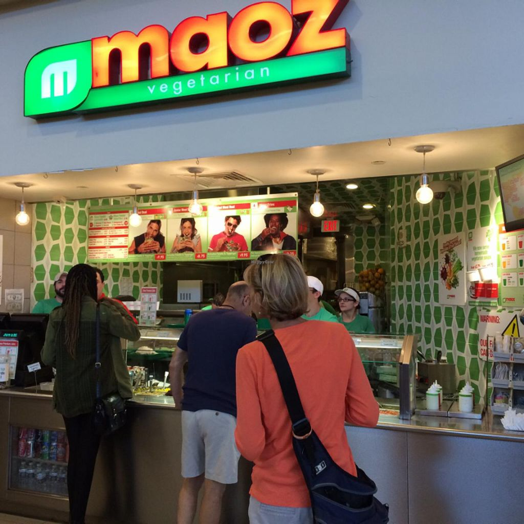 """Photo of Maoz Vegetarian  by <a href=""""/members/profile/kmilitello"""">kmilitello</a> <br/>store front <br/> March 1, 2014  - <a href='/contact/abuse/image/27188/65013'>Report</a>"""
