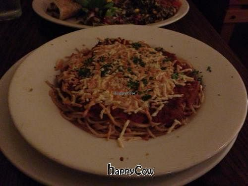 "Photo of Inn Season Cafe  by <a href=""/members/profile/SynthVegan"">SynthVegan</a> <br/>baked spaghetti  <br/> November 12, 2012  - <a href='/contact/abuse/image/2727/40173'>Report</a>"