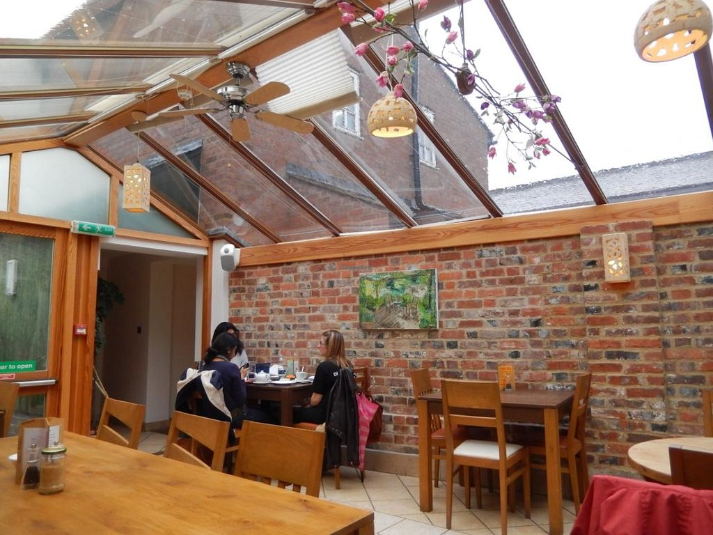 """Photo of CLOSED: Anusia Cafe  by <a href=""""/members/profile/CLRtraveller"""">CLRtraveller</a> <br/>rear part of cafe <br/> May 22, 2015  - <a href='/contact/abuse/image/27283/103041'>Report</a>"""