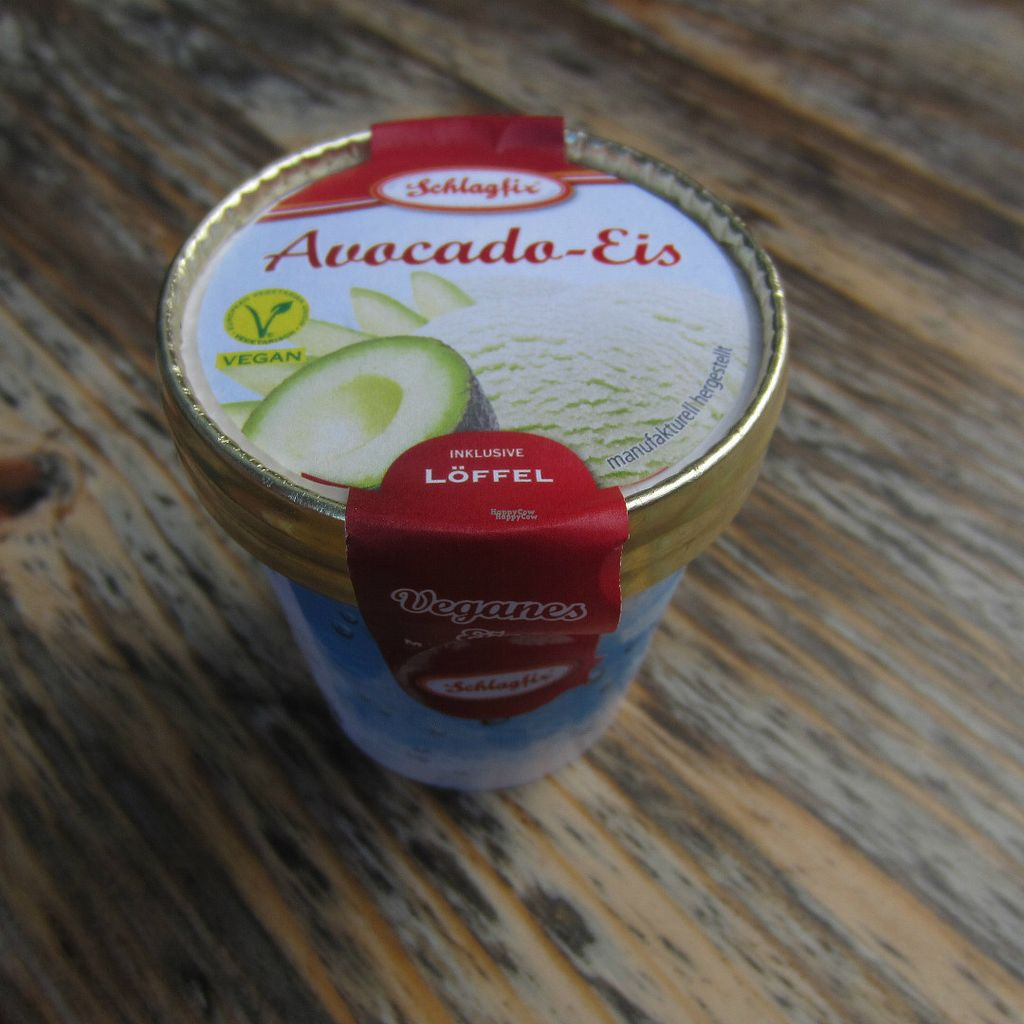 """Photo of Veganz - Schivelbeiner Strasse  by <a href=""""/members/profile/Allergic_NorVegan"""">Allergic_NorVegan</a> <br/>avocado ice cream <br/> September 1, 2016  - <a href='/contact/abuse/image/27300/172836'>Report</a>"""