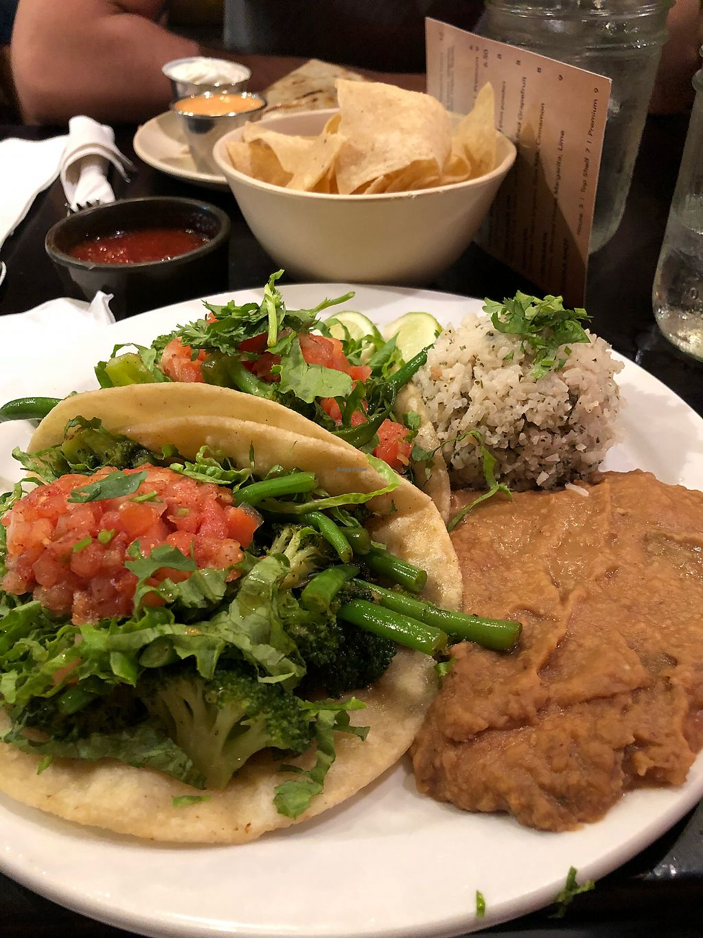 """Photo of Verde Restaurant  by <a href=""""/members/profile/CarleeBusby"""">CarleeBusby</a> <br/>Vegan tacos <br/> March 30, 2018  - <a href='/contact/abuse/image/27306/378186'>Report</a>"""