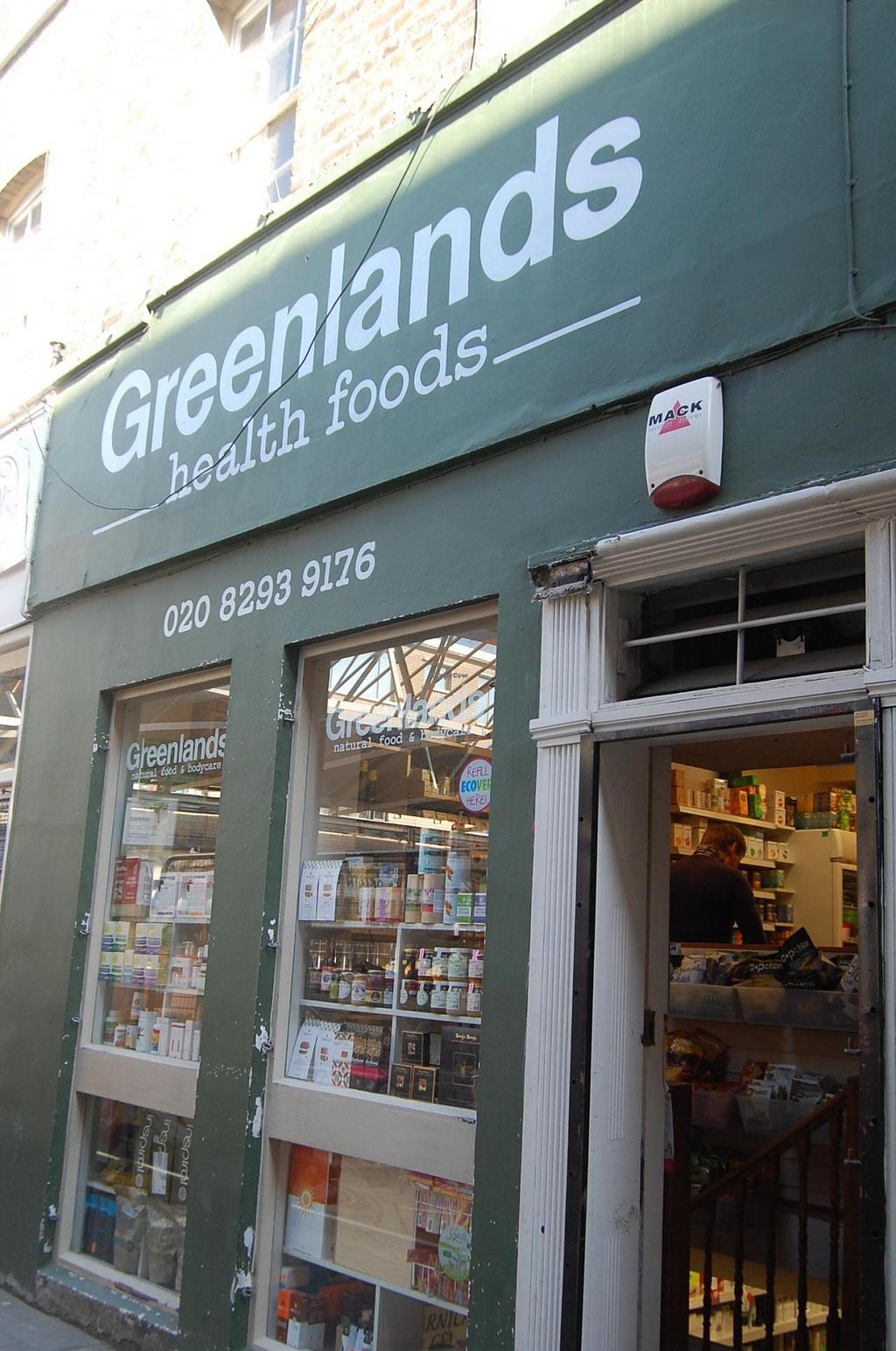 """Photo of Greenlands Wholefoods  by <a href=""""/members/profile/Clare"""">Clare</a> <br/>Store front <br/> June 10, 2015  - <a href='/contact/abuse/image/27314/105313'>Report</a>"""