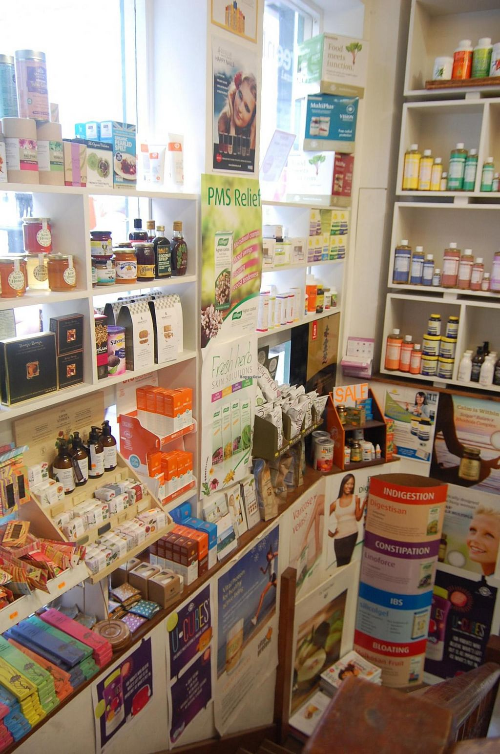 """Photo of Greenlands Wholefoods  by <a href=""""/members/profile/Clare"""">Clare</a> <br/>Stairs display <br/> June 18, 2015  - <a href='/contact/abuse/image/27314/106404'>Report</a>"""