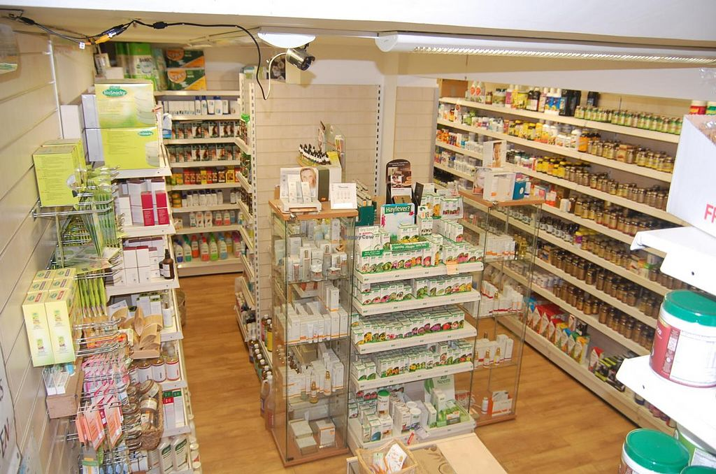 """Photo of Greenlands Wholefoods  by <a href=""""/members/profile/Clare"""">Clare</a> <br/>Great selection of toiletries, cosmetics and supplements downstairs <br/> June 18, 2015  - <a href='/contact/abuse/image/27314/106411'>Report</a>"""
