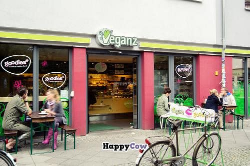 Photo of Goodies Cafe - Veganz Schivelbeiner Str  by Goodies <br/>Goodies Berlin Schivelbeiner Strasse 34 - outdoor seating <br/> November 6, 2013  - <a href='/contact/abuse/image/27316/57979'>Report</a>