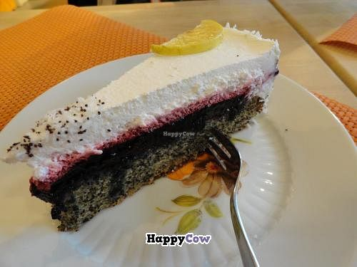 """Photo of Goodies Cafe - Veganz Schivelbeiner Str  by <a href=""""/members/profile/JonJon"""">JonJon</a> <br/>Lemon cheesecake <br/> November 7, 2013  - <a href='/contact/abuse/image/27316/58088'>Report</a>"""