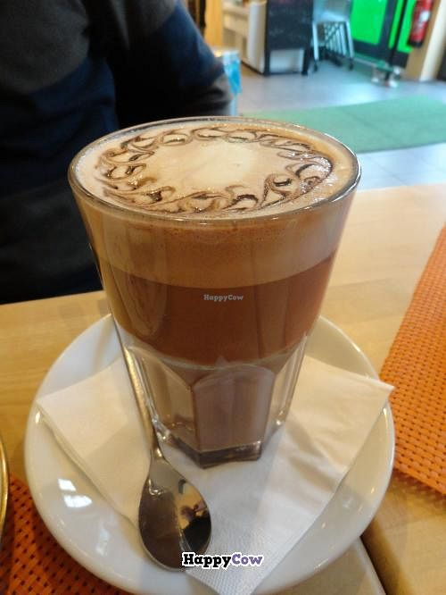 """Photo of Goodies Cafe - Veganz Schivelbeiner Str  by <a href=""""/members/profile/JonJon"""">JonJon</a> <br/>Hot chocolate <br/> November 7, 2013  - <a href='/contact/abuse/image/27316/58089'>Report</a>"""