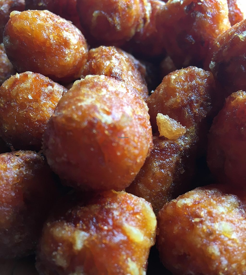 "Photo of Sticky Rice  by <a href=""/members/profile/cookiem"">cookiem</a> <br/>Vegan sweet potato tater tots!! <br/> October 26, 2015  - <a href='/contact/abuse/image/27322/201640'>Report</a>"