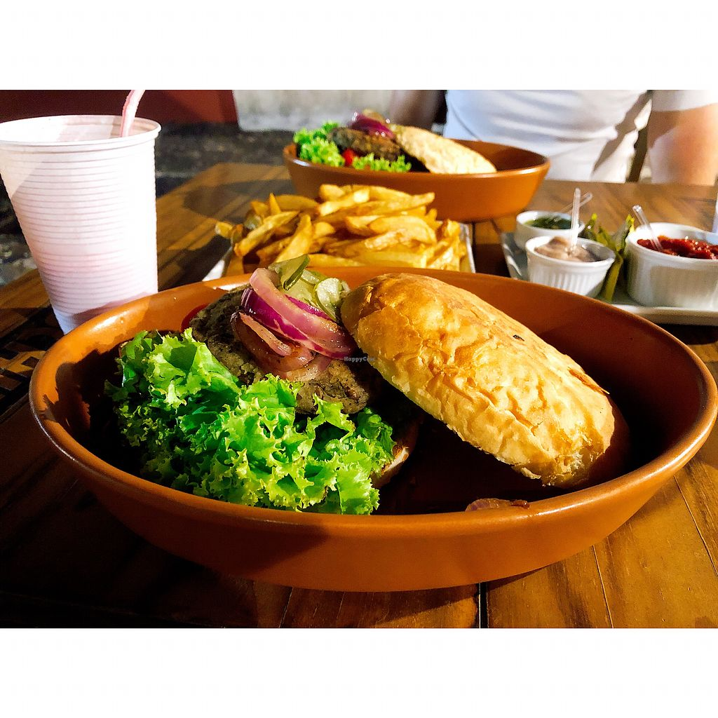"""Photo of Bar Zulu  by <a href=""""/members/profile/dee_dee"""">dee_dee</a> <br/>Veggie Burger <br/> February 12, 2018  - <a href='/contact/abuse/image/27323/358526'>Report</a>"""