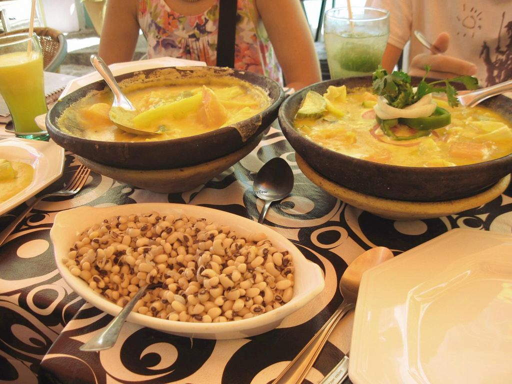 """Photo of Bar Zulu  by <a href=""""/members/profile/jjo"""">jjo</a> <br/>Bobó and Moqueca, both vegan <br/> January 10, 2014  - <a href='/contact/abuse/image/27323/62283'>Report</a>"""