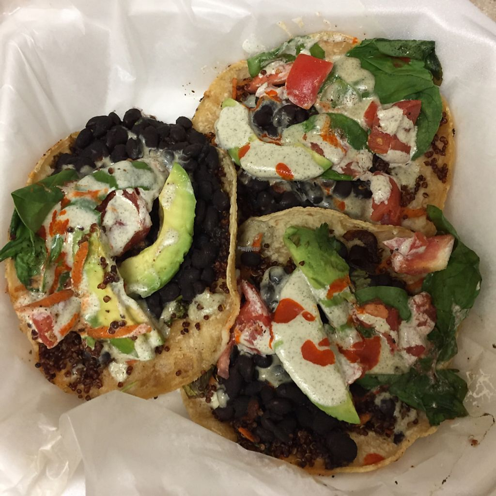 """Photo of Chef Will The Palate - Food Cart  by <a href=""""/members/profile/skipperkt"""">skipperkt</a> <br/>black bean tacos <br/> February 4, 2017  - <a href='/contact/abuse/image/27332/221812'>Report</a>"""