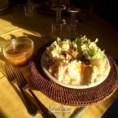 """Photo of Che Fresco at Hotel Calypso  by <a href=""""/members/profile/Calypso%20Paestum"""">Calypso Paestum</a> <br/>Soup and Mix plate with organic local ingredients: rise, millet, barley, cabbage, carrot, onion, chickpeas, lentils etc <br/> July 7, 2011  - <a href='/contact/abuse/image/27333/9553'>Report</a>"""