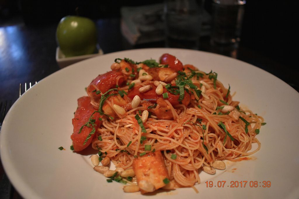 """Photo of FARMiCiA  by <a href=""""/members/profile/KajsaBeckett"""">KajsaBeckett</a> <br/>Pasta with tofu and pine nuts.  <br/> July 25, 2017  - <a href='/contact/abuse/image/27338/284513'>Report</a>"""