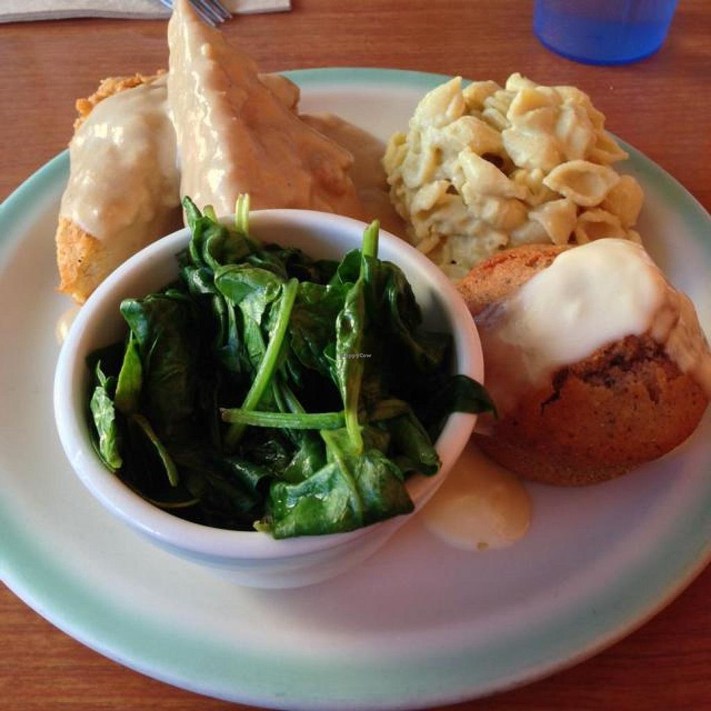 """Photo of Cornbread Cafe  by <a href=""""/members/profile/Xpopx"""">Xpopx</a> <br/>tempeh fish  <br/> August 7, 2014  - <a href='/contact/abuse/image/27352/76253'>Report</a>"""