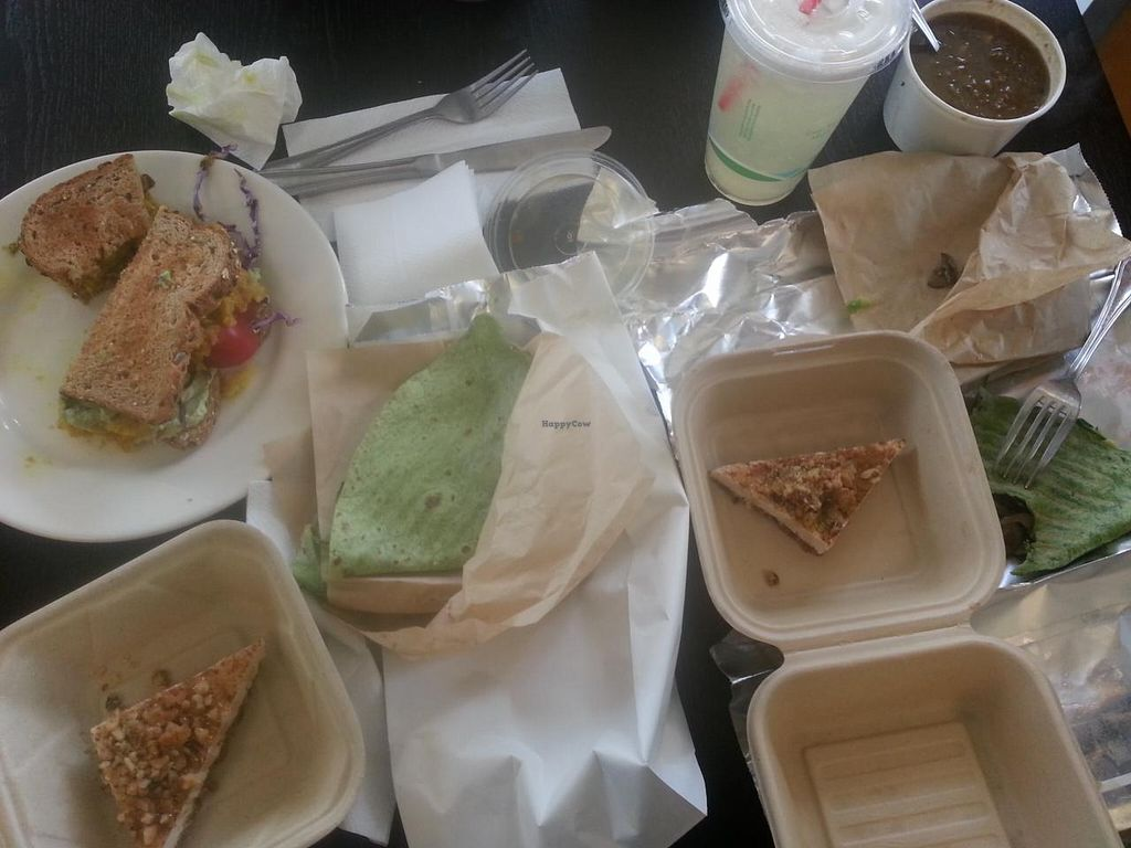 """Photo of CLOSED: Baagan  by <a href=""""/members/profile/LindaDunlapOliva"""">LindaDunlapOliva</a> <br/>An overview of our meal <br/> March 3, 2015  - <a href='/contact/abuse/image/27372/94703'>Report</a>"""