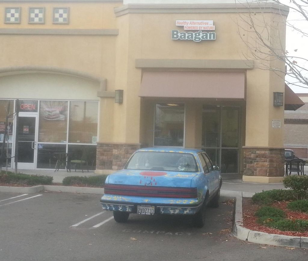 """Photo of CLOSED: Baagan  by <a href=""""/members/profile/LindaDunlapOliva"""">LindaDunlapOliva</a> <br/>If this is an employee car right out front taking up space where a customer could park, that's my biggest complaint about Baagan. Shouldn't employees should be more considerate and park as far away from where they work as possible? <br/> March 3, 2015  - <a href='/contact/abuse/image/27372/94705'>Report</a>"""