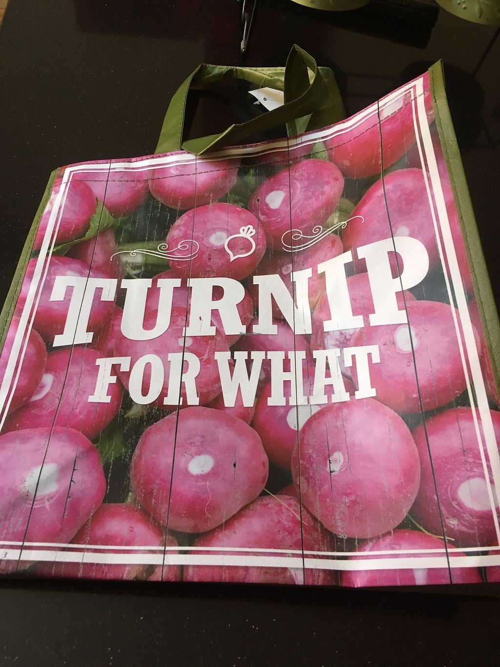 """Photo of Sprouts Farmers Market - San Mateo  by <a href=""""/members/profile/AlexandraPhillips"""">AlexandraPhillips</a> <br/>LOVE my reusable bag! haha <br/> August 2, 2017  - <a href='/contact/abuse/image/27412/288035'>Report</a>"""
