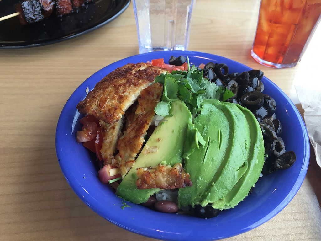 "Photo of Cafe Yumm  by <a href=""/members/profile/Browncoat3000"">Browncoat3000</a> <br/>Jazzy Bowl with Tempeh <br/> March 29, 2018  - <a href='/contact/abuse/image/27421/377607'>Report</a>"