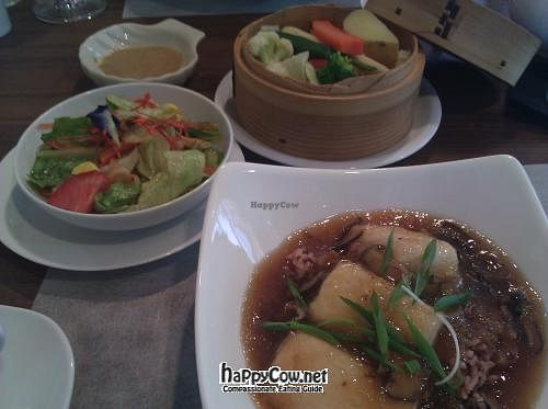 """Photo of Sustaina  by <a href=""""/members/profile/eric"""">eric</a> <br/>Vegetarian Macrobiotic set meal <br/> May 7, 2012  - <a href='/contact/abuse/image/27429/31586'>Report</a>"""