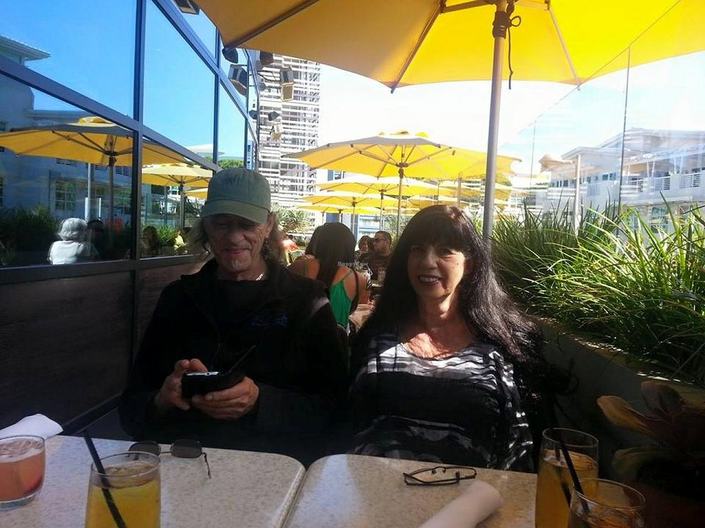 "Photo of True Food Kitchen  by <a href=""/members/profile/ChrisCollette"">ChrisCollette</a> <br/>Beautiful patio ... happy customers <br/> June 7, 2015  - <a href='/contact/abuse/image/27441/105048'>Report</a>"