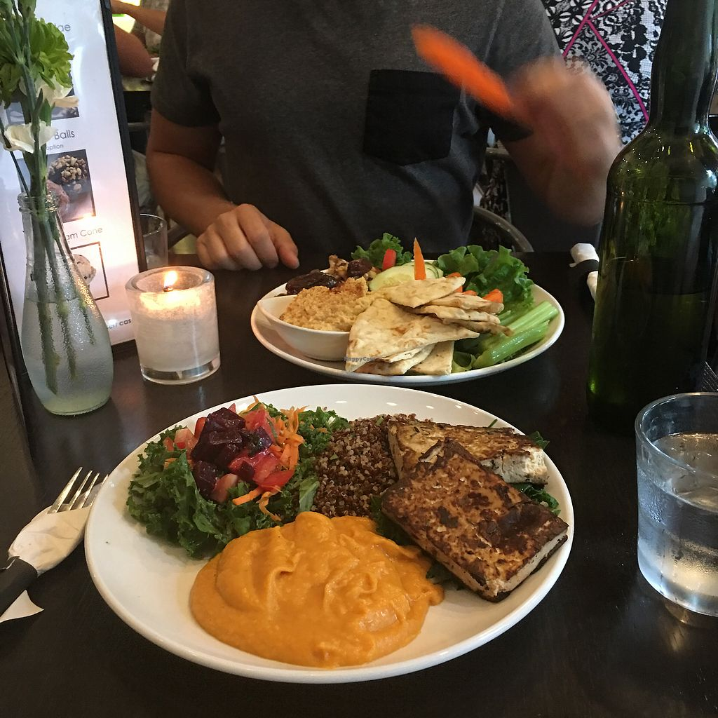 "Photo of Munch  by <a href=""/members/profile/ArpineKostandyan"">ArpineKostandyan</a> <br/>groovy plate and lemony hummus  <br/> August 20, 2017  - <a href='/contact/abuse/image/27455/294857'>Report</a>"