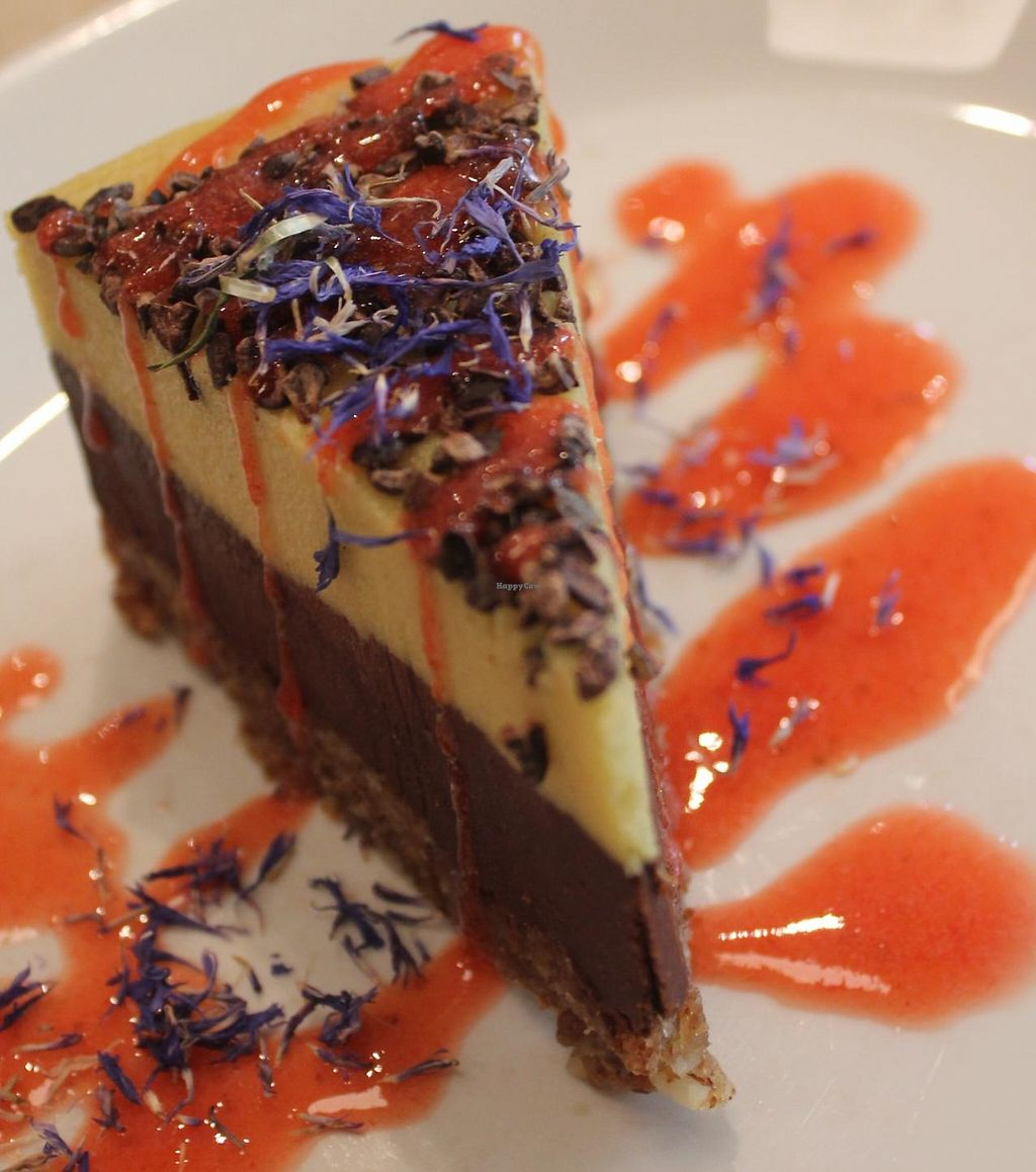 """Photo of The Beginnings - Skolas  by <a href=""""/members/profile/Heike.St"""">Heike.St</a> <br/>Raw vegan cheesecake. Awesome <br/> May 11, 2015  - <a href='/contact/abuse/image/27538/194171'>Report</a>"""