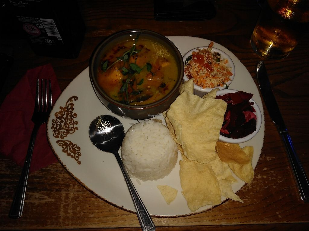 """Photo of Thatch  by <a href=""""/members/profile/starcide"""">starcide</a> <br/>Butternut squash, potatoe and spinich curry <br/> November 6, 2017  - <a href='/contact/abuse/image/27549/322436'>Report</a>"""