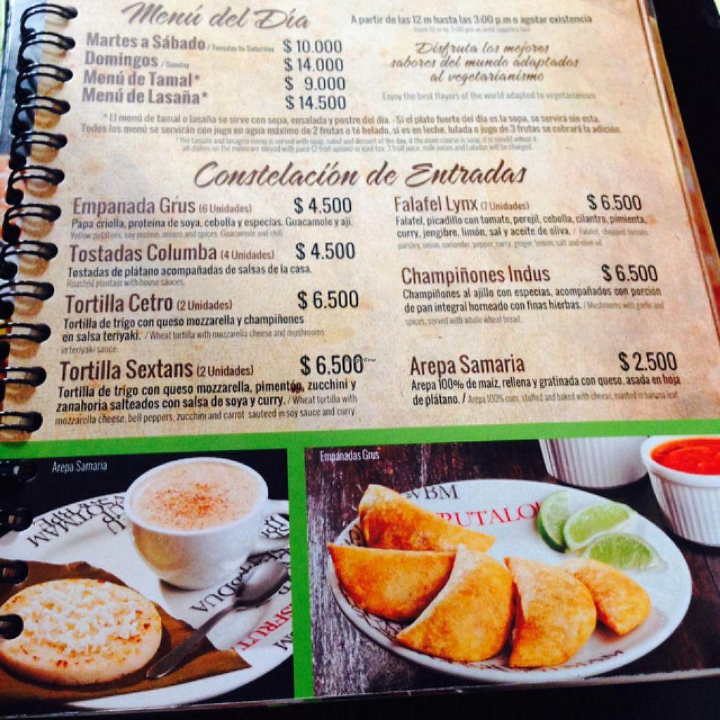 "Photo of El Buen Alimento  by <a href=""/members/profile/dreamexplorelove"">dreamexplorelove</a> <br/>first page of menu  <br/> July 18, 2015  - <a href='/contact/abuse/image/27563/109852'>Report</a>"