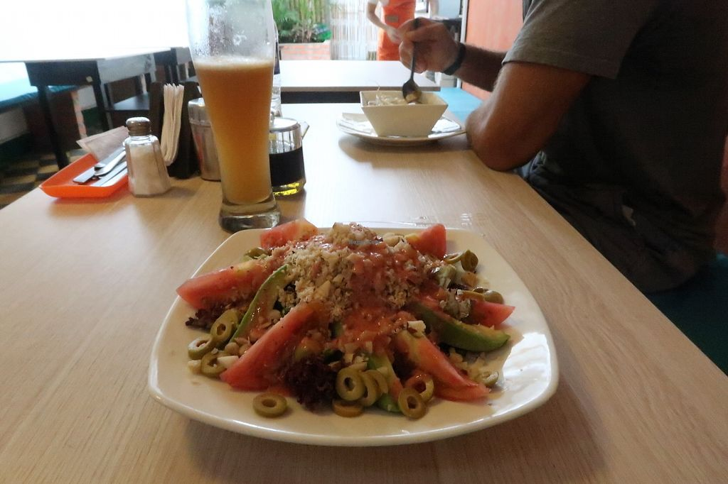 """Photo of El Buen Alimento  by <a href=""""/members/profile/KayleighCheel"""">KayleighCheel</a> <br/>Delicious salad, full of flavour! <br/> April 5, 2018  - <a href='/contact/abuse/image/27563/381286'>Report</a>"""