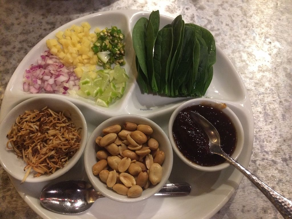 "Photo of Pen Thai Restaurant  by <a href=""/members/profile/Arti"">Arti</a> <br/>Very interesting spinach wrap appetizer  <br/> January 27, 2018  - <a href='/contact/abuse/image/27566/351531'>Report</a>"