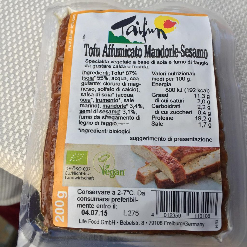 """Photo of Naturalia  by <a href=""""/members/profile/heyheyrenee"""">heyheyrenee</a> <br/>Vegan tofu <br/> May 26, 2015  - <a href='/contact/abuse/image/27612/103448'>Report</a>"""