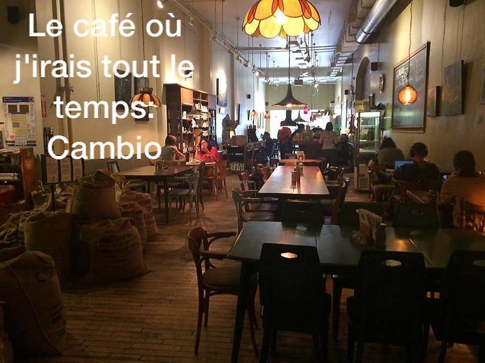 """Photo of Cafe Cambio  by <a href=""""/members/profile/St%C3%A9phanieBoivin"""">StéphanieBoivin</a> <br/>Vue du derrière <br/> July 9, 2017  - <a href='/contact/abuse/image/27619/278025'>Report</a>"""