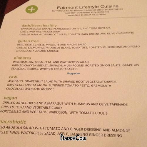 """Photo of Pyramid Restaurant and Bar  by <a href=""""/members/profile/DougKalish"""">DougKalish</a> <br/>Special menu with raw and vegan options (Summer 2013) <br/> June 17, 2013  - <a href='/contact/abuse/image/27637/49712'>Report</a>"""