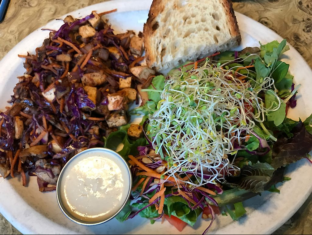 """Photo of Old Town Cafe  by <a href=""""/members/profile/SonyaLooney"""">SonyaLooney</a> <br/>fresh garden tofu scramble  <br/> April 1, 2017  - <a href='/contact/abuse/image/27646/243424'>Report</a>"""