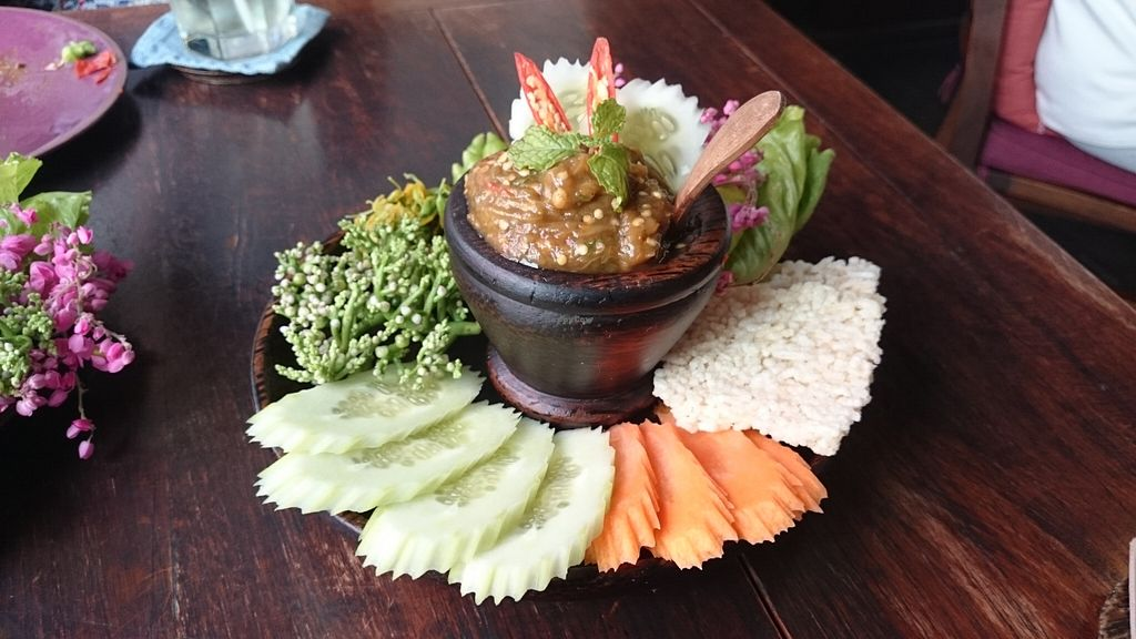"Photo of Anotai  by <a href=""/members/profile/zani_eats_a_leaf"">zani_eats_a_leaf</a> <br/>eggplant and sesame dip  <br/> December 14, 2015  - <a href='/contact/abuse/image/2766/128508'>Report</a>"