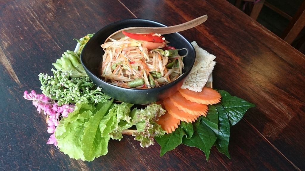 "Photo of Anotai  by <a href=""/members/profile/zani_eats_a_leaf"">zani_eats_a_leaf</a> <br/>Laos style papaya salad  <br/> December 14, 2015  - <a href='/contact/abuse/image/2766/128509'>Report</a>"