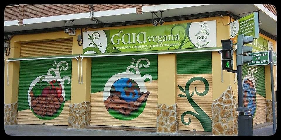 """Photo of Gaia Vegana  by <a href=""""/members/profile/Tea_and_Sparkles"""">Tea_and_Sparkles</a> <br/>Picture of the facade- From their Facebook page (not mine) <br/> September 1, 2017  - <a href='/contact/abuse/image/27676/299607'>Report</a>"""