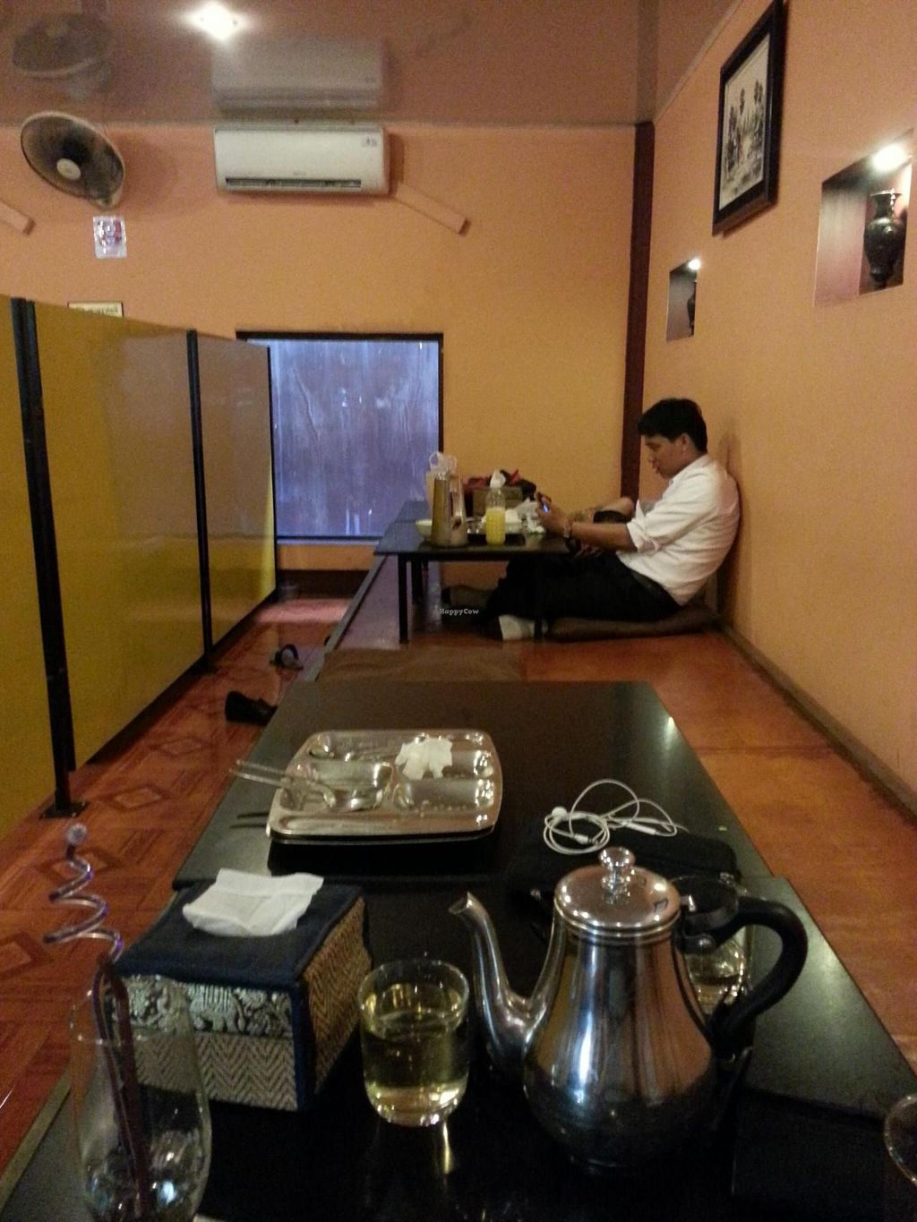 """Photo of Lunar Cafe  by <a href=""""/members/profile/MMills"""">MMills</a> <br/>Floor seating <br/> June 9, 2015  - <a href='/contact/abuse/image/27681/105257'>Report</a>"""
