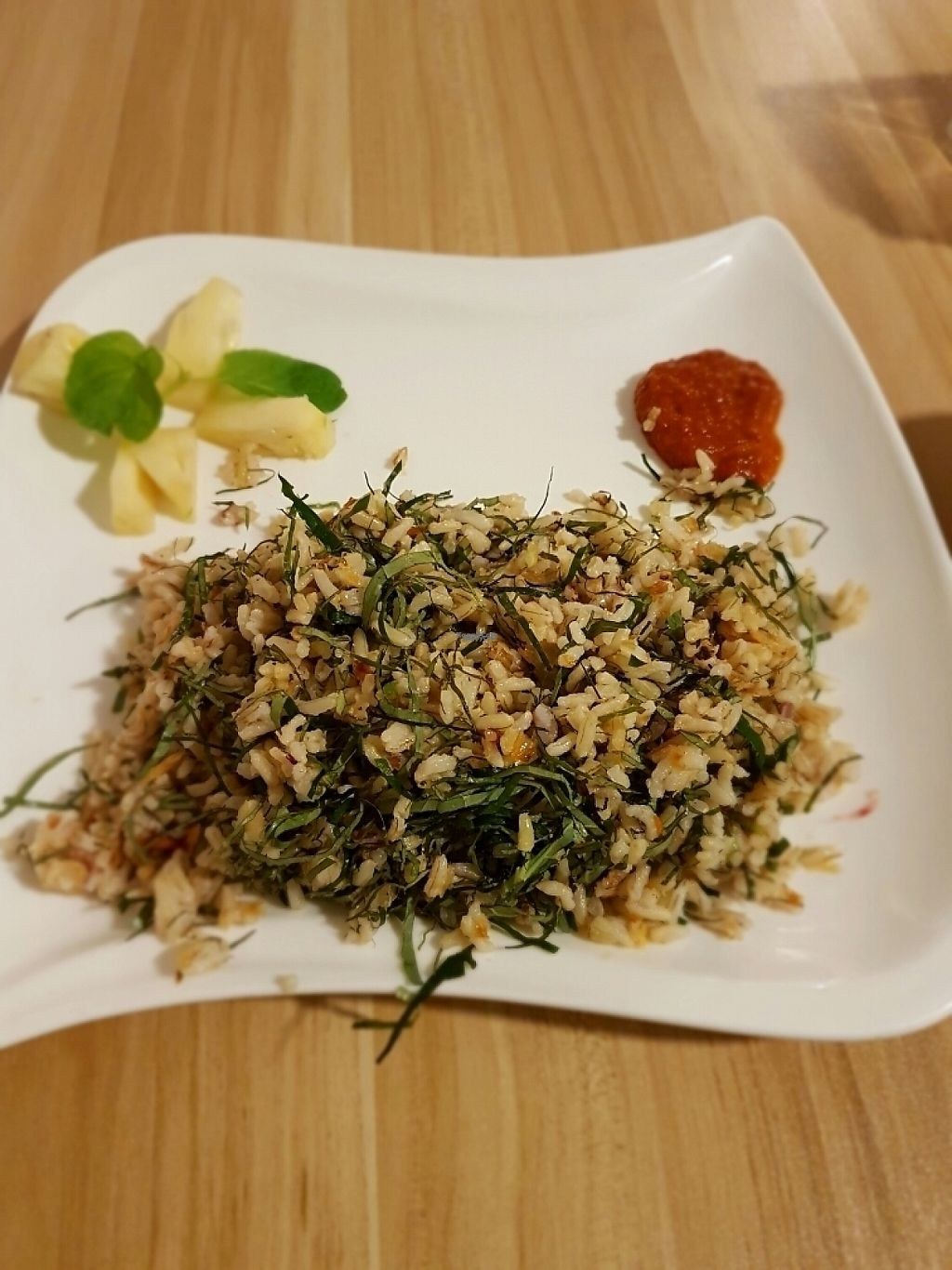 """Photo of The Leaf Healthy House  by <a href=""""/members/profile/tantantan"""">tantantan</a> <br/>brown rice with Chinese spices. so good <br/> January 24, 2017  - <a href='/contact/abuse/image/27692/215607'>Report</a>"""