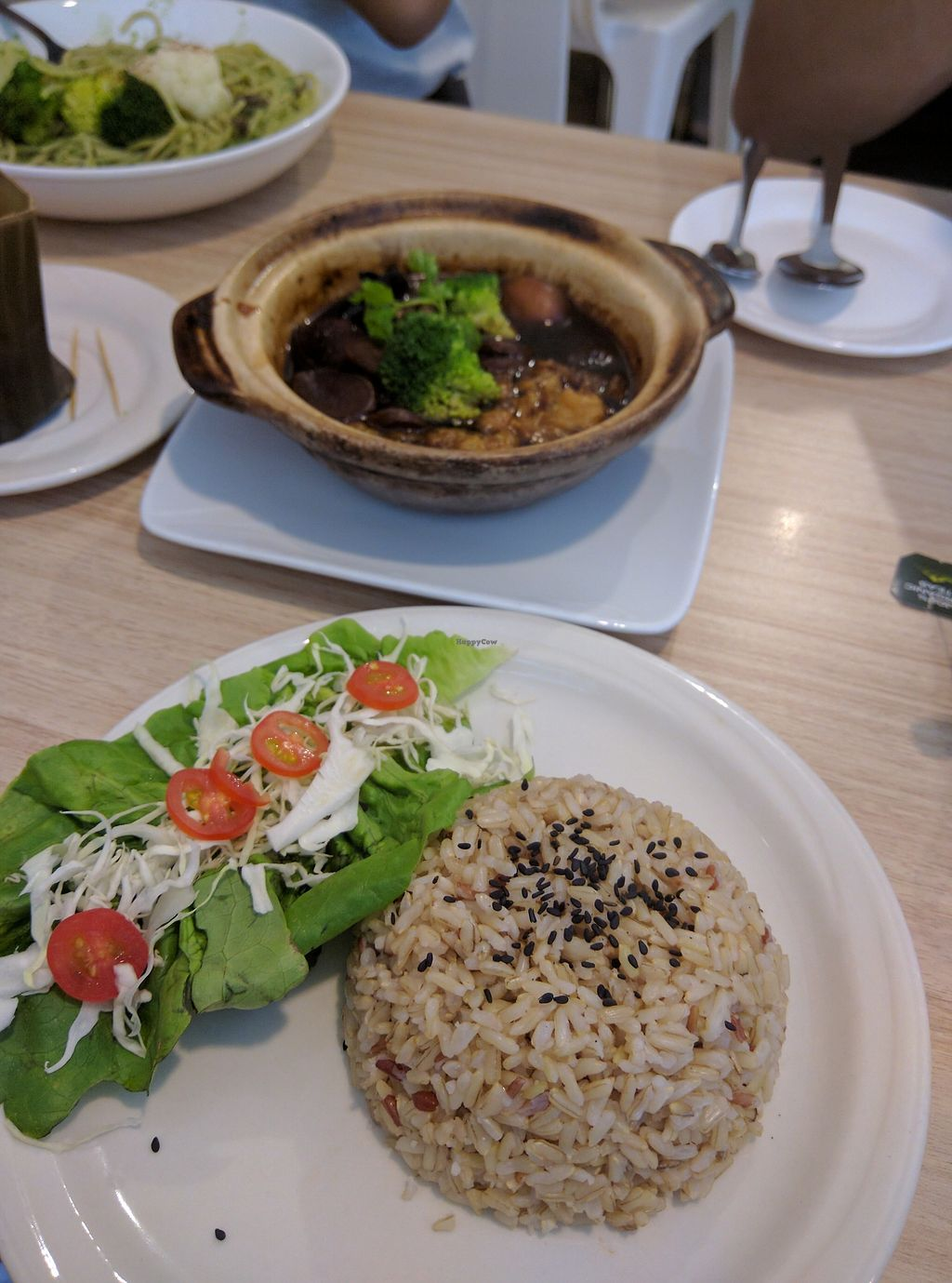 """Photo of The Leaf Healthy House  by <a href=""""/members/profile/Summer_Tan"""">Summer_Tan</a> <br/>Slow Braised Vinegar Ginger - RM13.90 (comes with rice) HIGHLY RECOMMEND THIS! Fragrant and very flavourful! Strong with lots ginger and vinegar, and well balanced! Very impressed and absolutely loved this <br/> January 31, 2018  - <a href='/contact/abuse/image/27692/353294'>Report</a>"""
