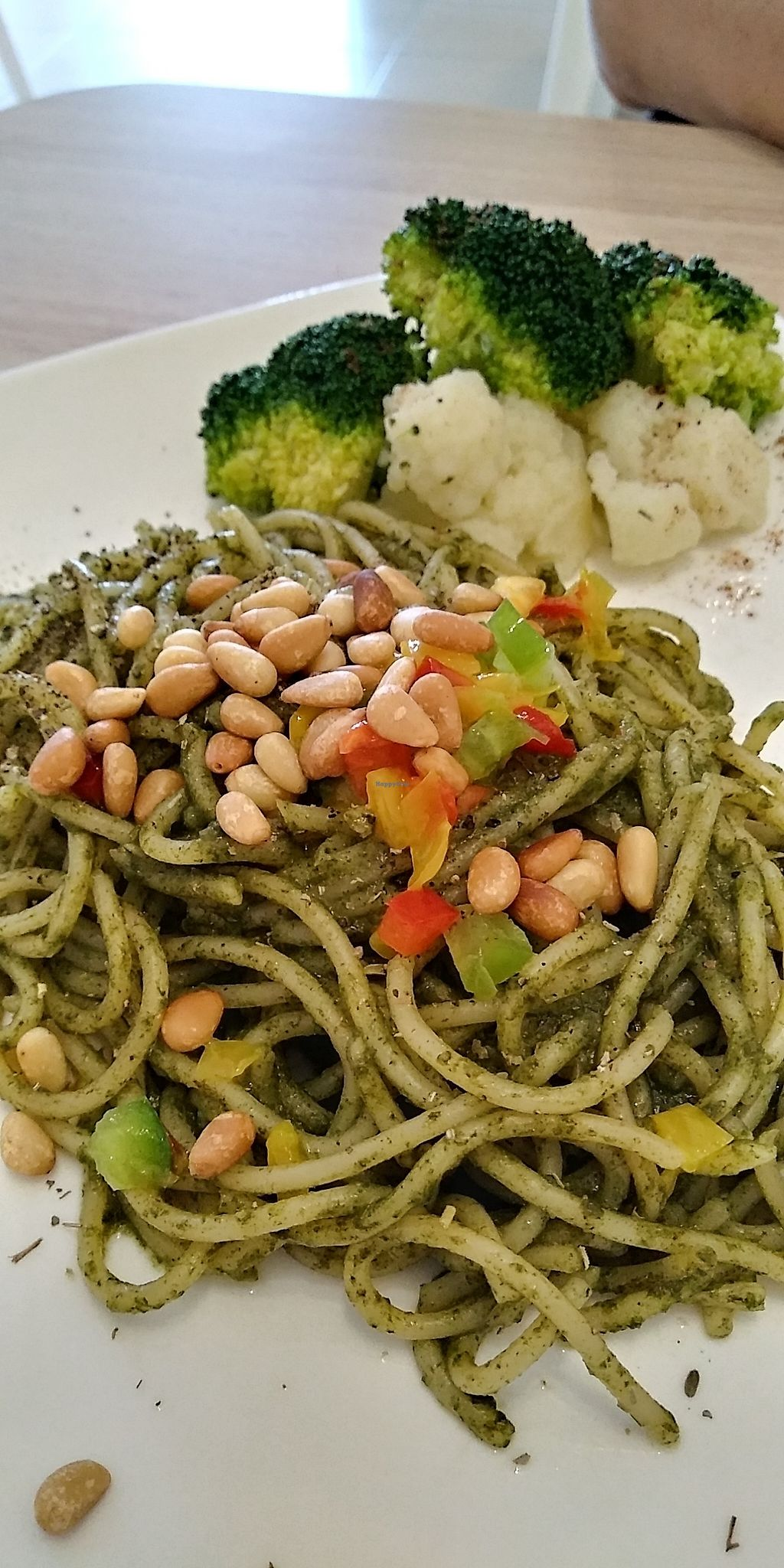 """Photo of The Leaf Healthy House  by <a href=""""/members/profile/audreyho"""">audreyho</a> <br/>3/2/2018 Basil & pine nut spaghetti - RM11.90 <br/> February 3, 2018  - <a href='/contact/abuse/image/27692/354306'>Report</a>"""