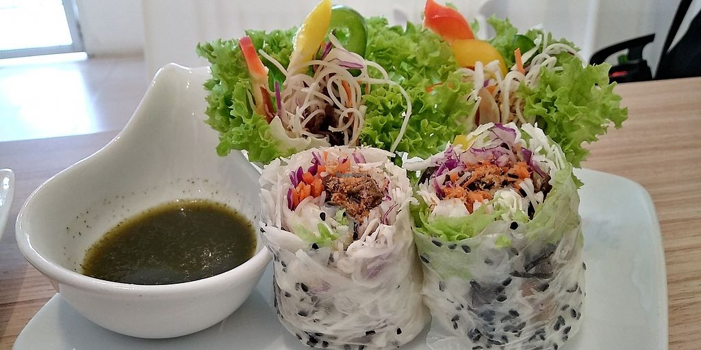 """Photo of The Leaf Healthy House  by <a href=""""/members/profile/audreyho"""">audreyho</a> <br/>3/2/2018 Vietnamese handroll - RM7.90 <br/> February 3, 2018  - <a href='/contact/abuse/image/27692/354310'>Report</a>"""