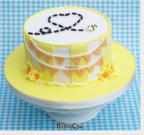 """Photo of Hannah Banana Bakery  by <a href=""""/members/profile/Hannah%20Southcoast"""">Hannah Southcoast</a> <br/>Vegan baby shower cake <br/> February 1, 2013  - <a href='/contact/abuse/image/27701/43630'>Report</a>"""