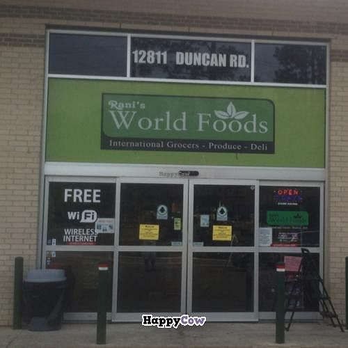 """Photo of Rani's World Foods Kitchen  by <a href=""""/members/profile/Vegan%20Vagabond"""">Vegan Vagabond</a> <br/>outside <br/> October 31, 2013  - <a href='/contact/abuse/image/27704/57658'>Report</a>"""