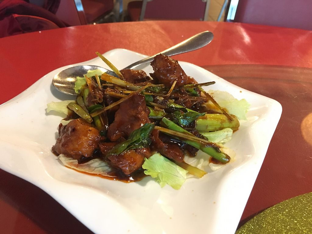 """Photo of Tin Sum Vegetarian Restaurant  by <a href=""""/members/profile/JeppoMAX"""">JeppoMAX</a> <br/>Lemongrass chicken <br/> March 16, 2018  - <a href='/contact/abuse/image/27719/371285'>Report</a>"""
