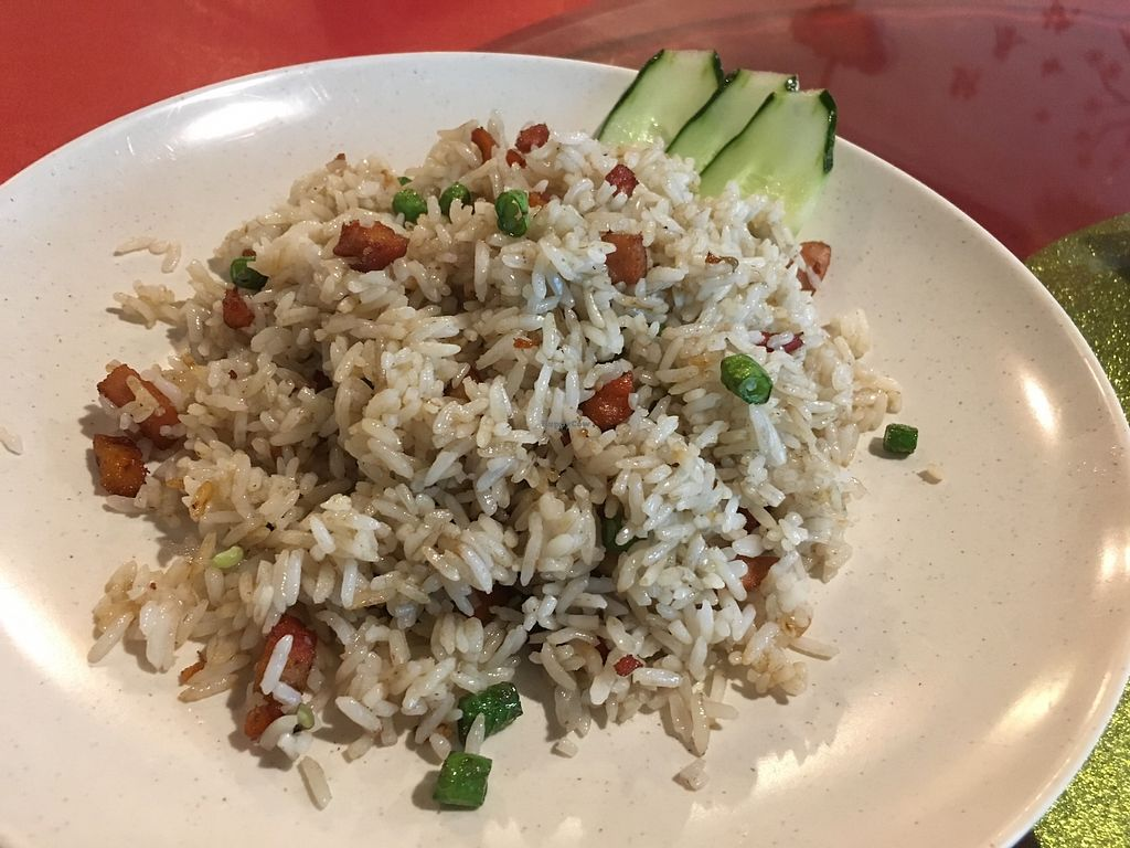 """Photo of Tin Sum Vegetarian Restaurant  by <a href=""""/members/profile/JeppoMAX"""">JeppoMAX</a> <br/>Fried rice <br/> March 16, 2018  - <a href='/contact/abuse/image/27719/371289'>Report</a>"""