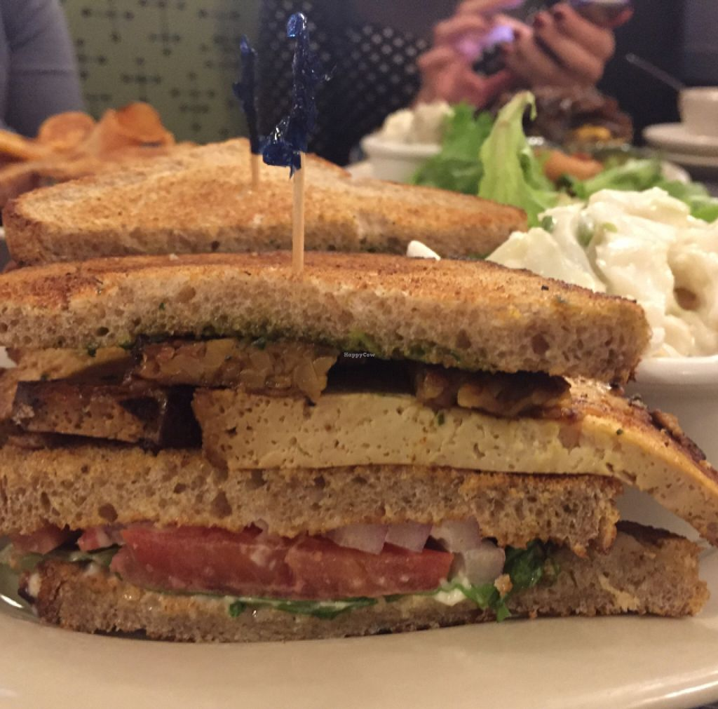 """Photo of Veggie Galaxy  by <a href=""""/members/profile/AlessandraTaryn"""">AlessandraTaryn</a> <br/>The Club Sandwich <br/> October 9, 2015  - <a href='/contact/abuse/image/27722/120762'>Report</a>"""