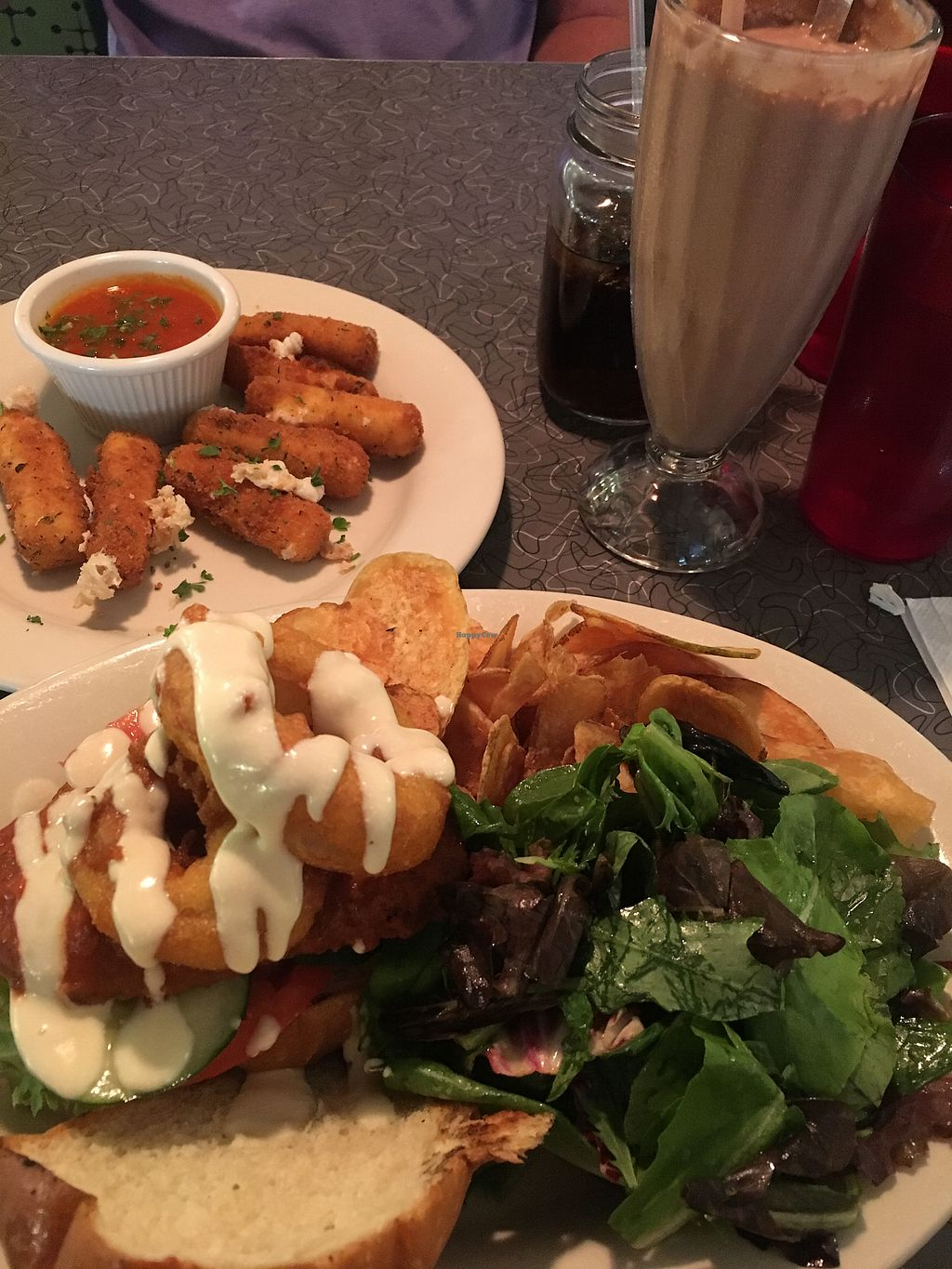 """Photo of Veggie Galaxy  by <a href=""""/members/profile/amamurph"""">amamurph</a> <br/>so yummy! <br/> August 20, 2017  - <a href='/contact/abuse/image/27722/294957'>Report</a>"""