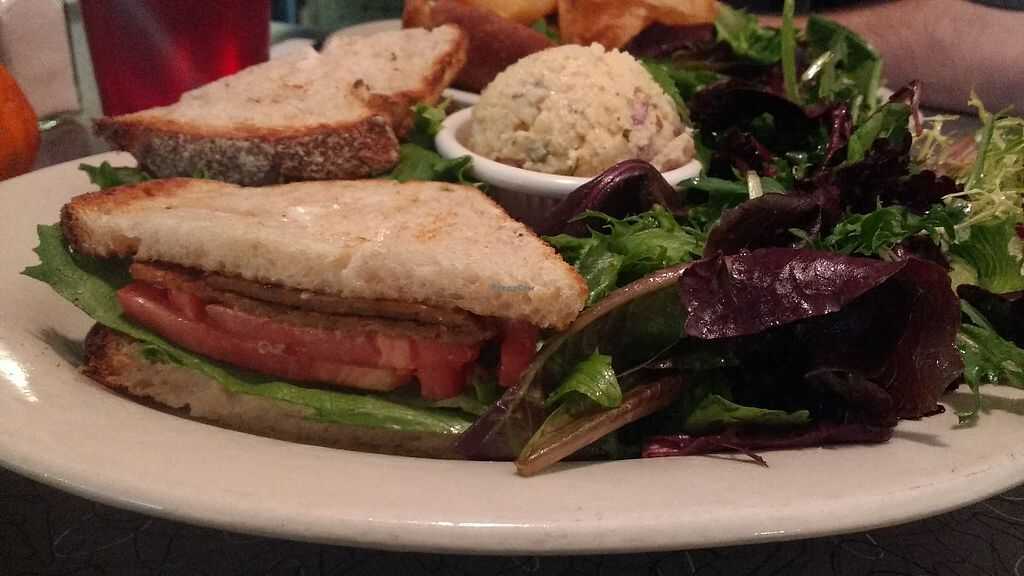 """Photo of Veggie Galaxy  by <a href=""""/members/profile/Coralin"""">Coralin</a> <br/>Bacon sandwich <br/> November 9, 2017  - <a href='/contact/abuse/image/27722/323578'>Report</a>"""